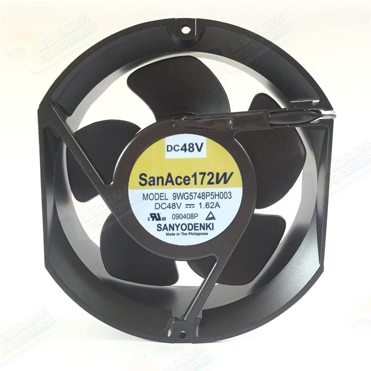 SANYO 9WG5748P5H003 172W DC 48V 1.62A IP65 waterproof fan