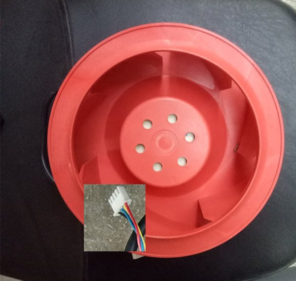 Delta TCA1748AT  DC48V 2.10A Waterproof Centrifugal Cooling Fan