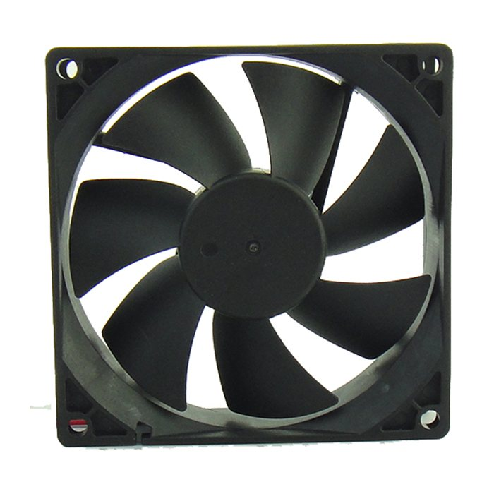 JIULONG YY9225H24S DC24V 6.72W 0.3A 2-Wires Inverter Cooling Fan