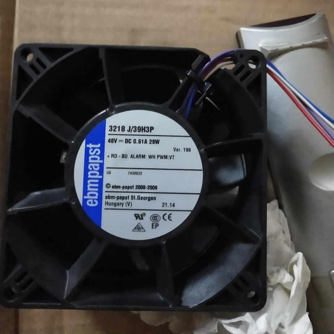 ebm-papst 3218 J/39H3P 3218 J39H3P DC 48V 29W 92x92x38mm Server Square fan
