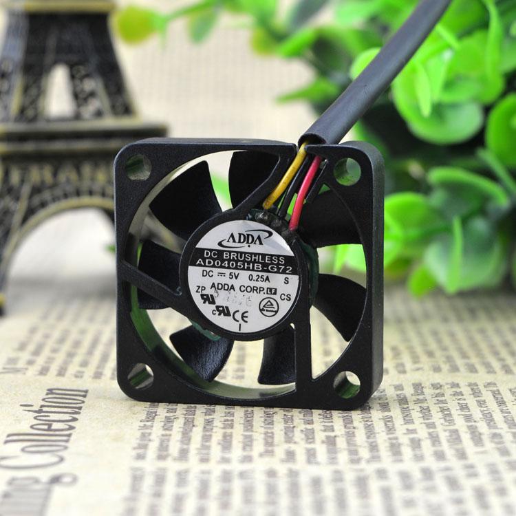 ADDA AD0405HB-G72 5V 0.25A Bearing double ball cooling fan
