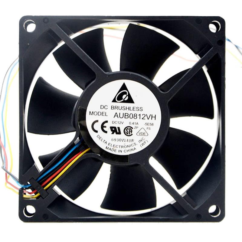 DELTA AUB0812VHB 80x80x15mm DC12V 0.30A Cooling Fan