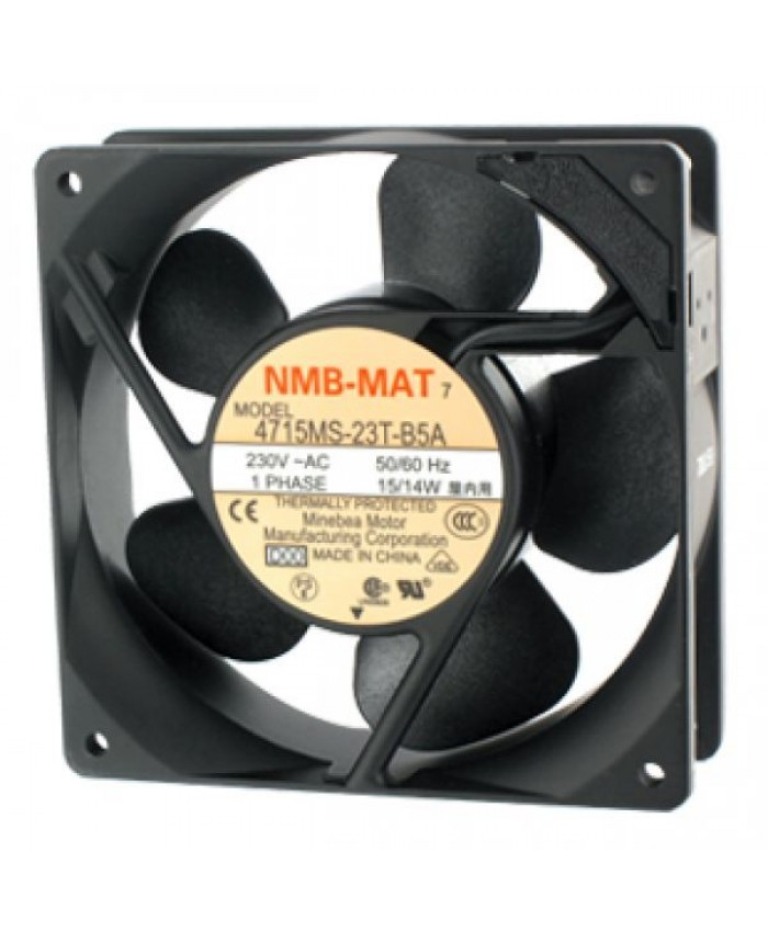 NMB-MAT 4715MS-23T-B5A 230V 0.12A cooling fan