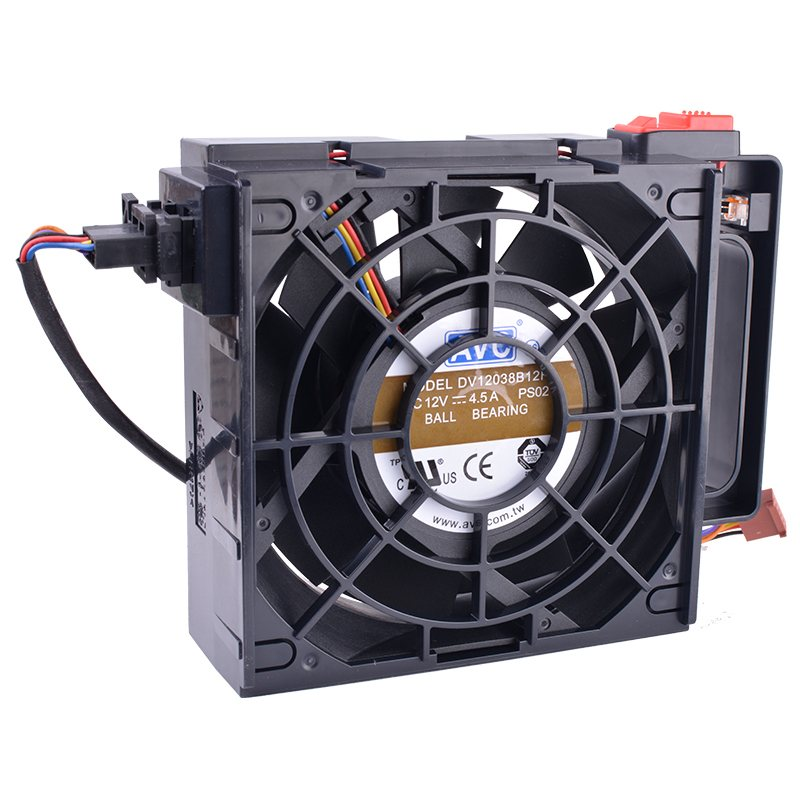 AVC DV12038B12H 120mm 12V 4.5A Dual Ball Bearing axial cooling fan