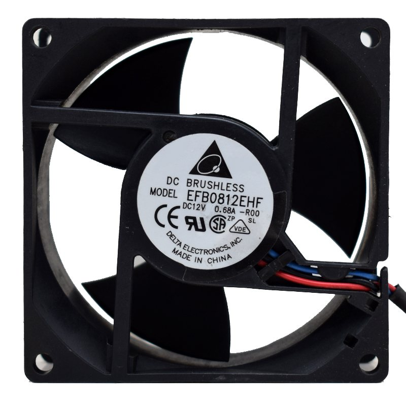 Delta EFB0812EHF 12V 0.68A 80*80*32mm cooling fan