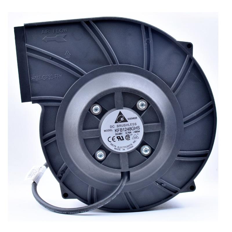 Delta KFB1248GHS 180mm 48V blower industry cooling turbo fan