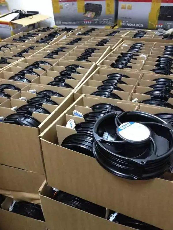 Ebmpapst 6318/19HPU BKV301 216/130  DC48V 30W 4-wire axial fan
