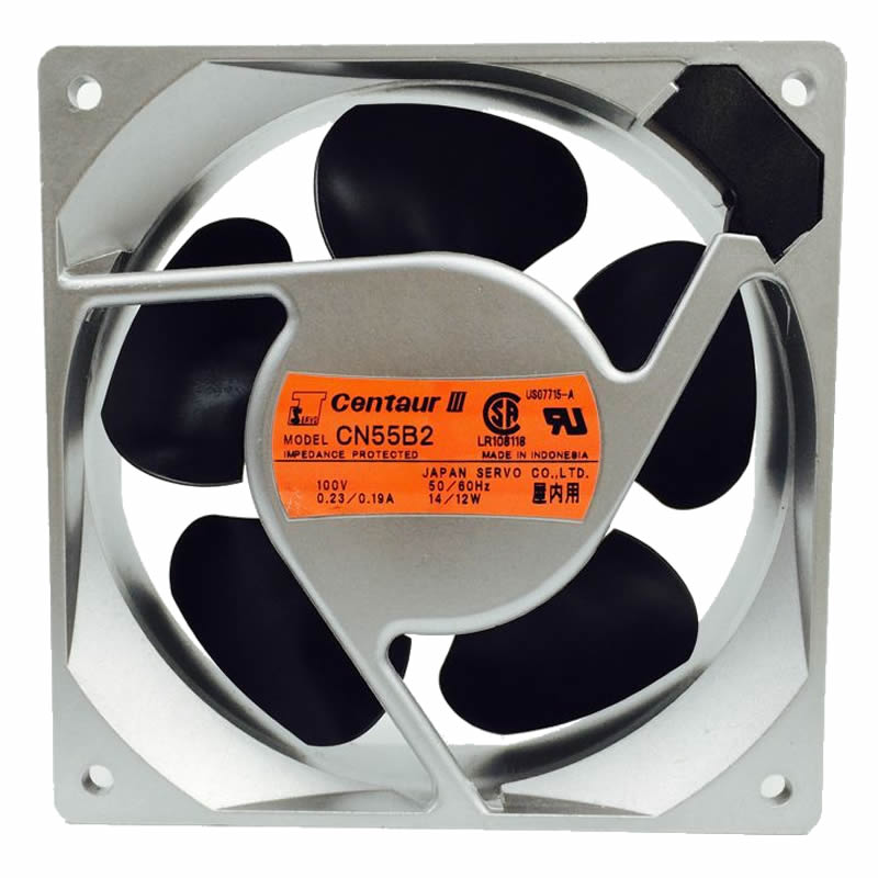 SERVO CN55B2 100V 50/60Hz 0.23/0.19A 14/12W COOLING FAN