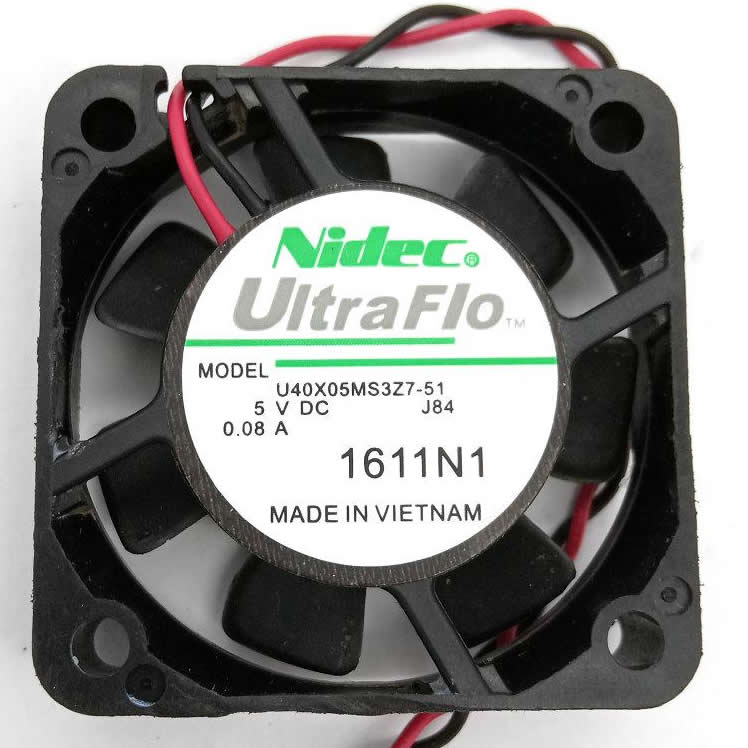 Nidec U40X05MS3Z7-51 U40X05ML27-51 4CM 0.1a 5V 0.08A cooling fan
