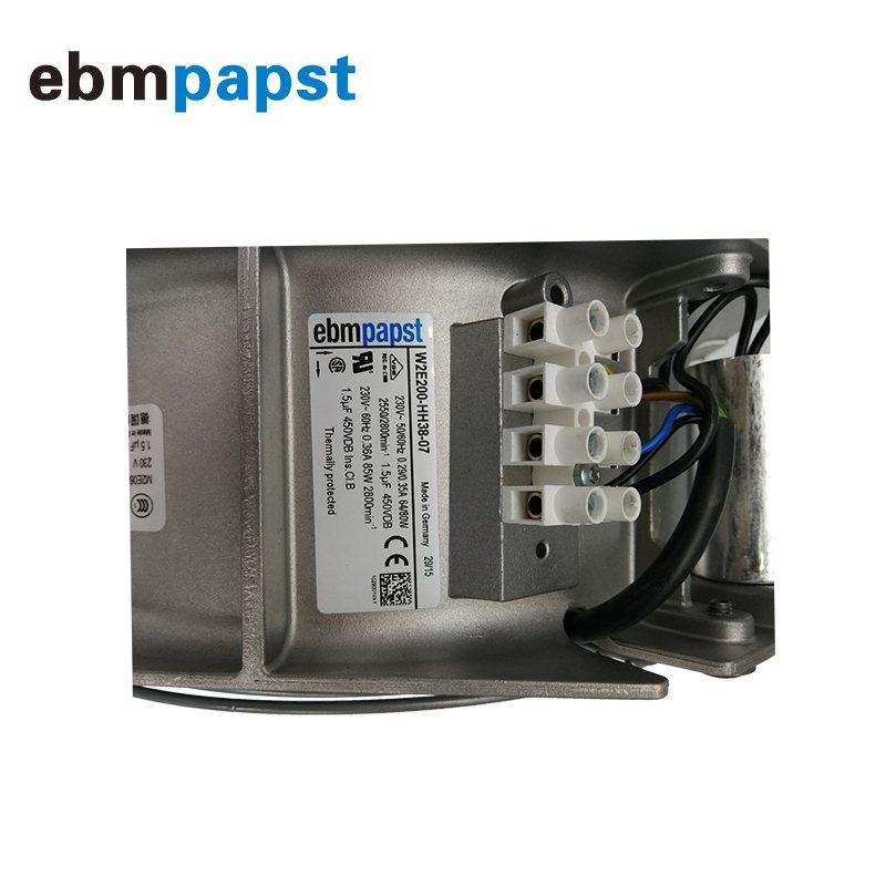 ebmpapst W2E200-HH38-07 230V 80W enclosure cooling fan