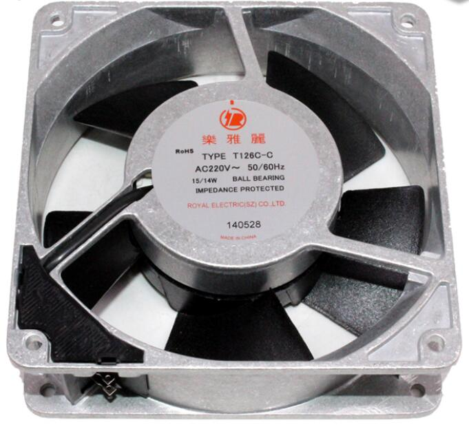 T126C-C AC220V Japan ROYAL high-end equipment cooling fan