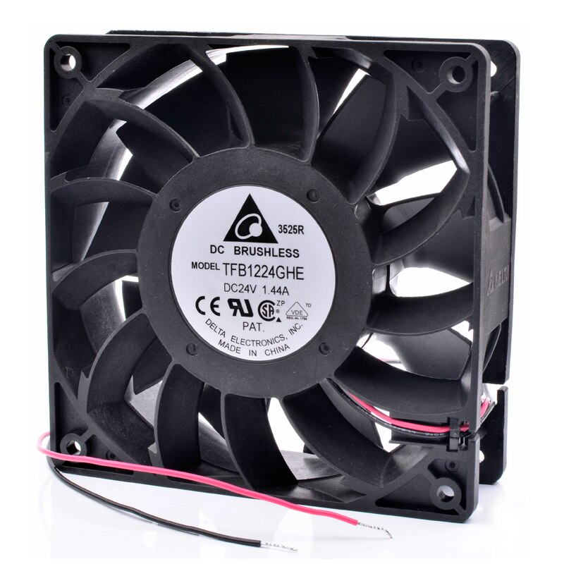Delta TFB1224GHE 12cm 120mm DC24V 1.44A Cooling fan