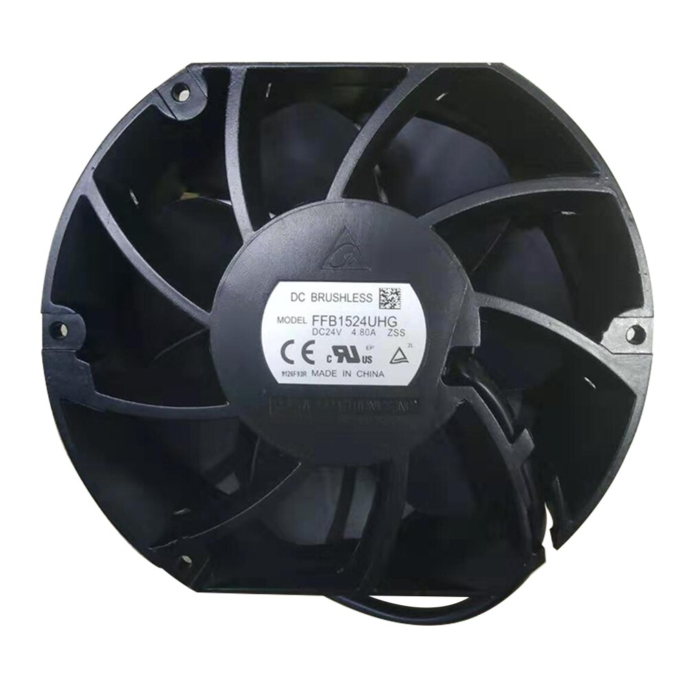 Delta FFB1524UHG DC24V 4.8A R6 inverter cooling fan