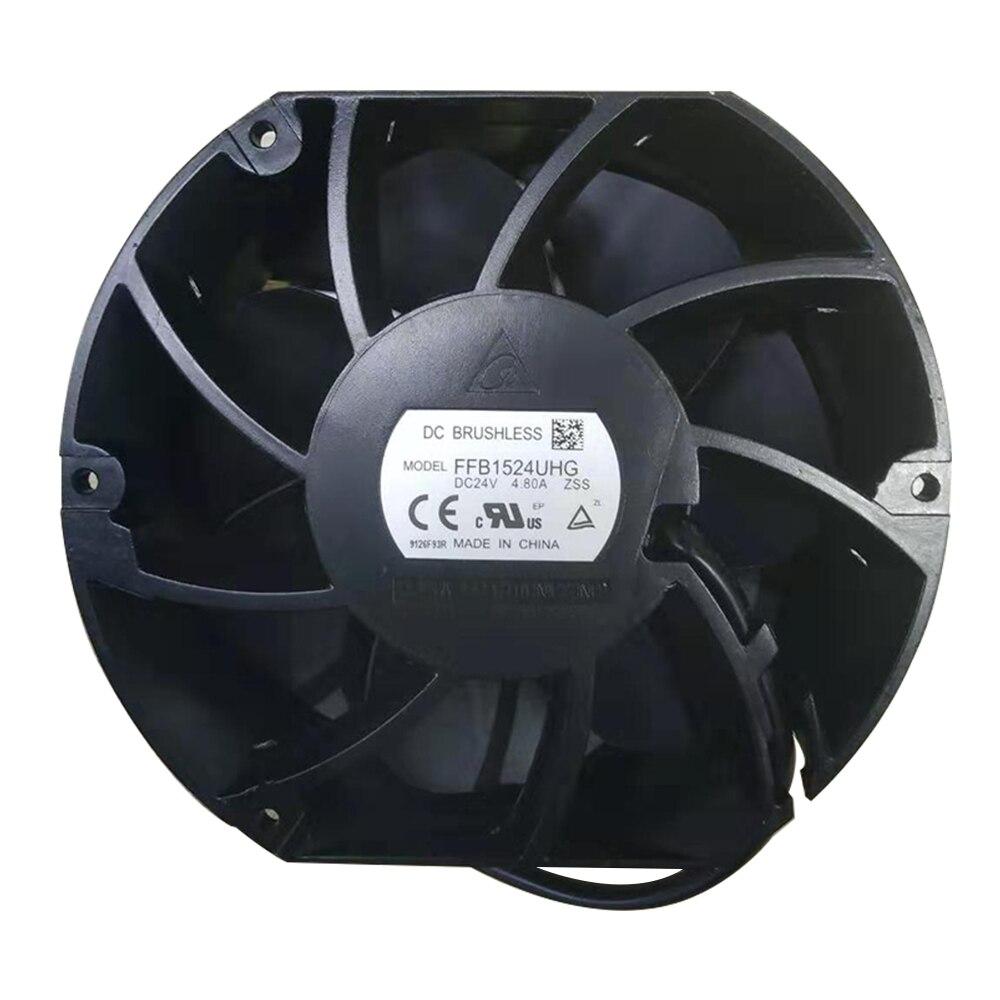 Delta FFB1524UHG DC24V 4.8A R6 inverter cooling fan