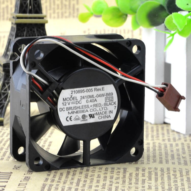 NMB 2410ML-04W-B69 12V 0.40A 3-wire Industrial Cooling Fan