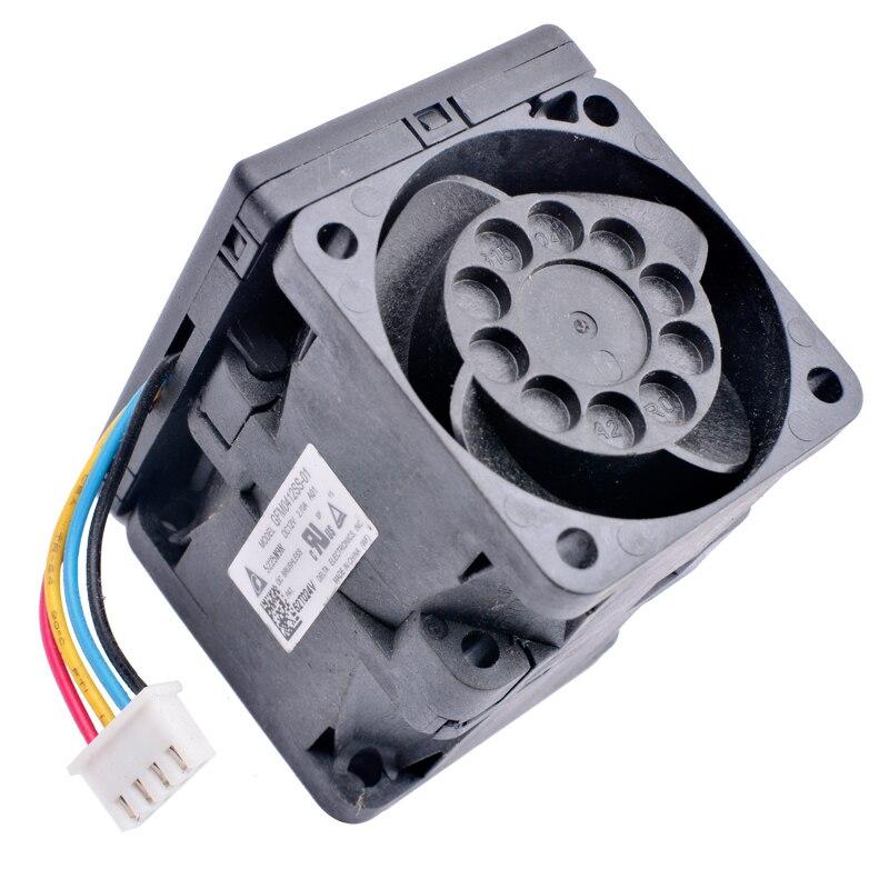 Delta GFM0412SS-01 5225N9R  DC12V 2.70A Server Cooling Fan