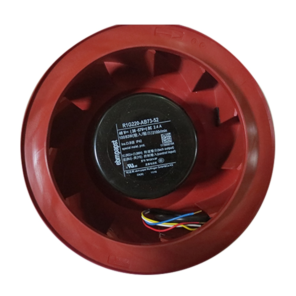 ebmpapst R1G220-AB73-52 DC48V  2.4A centrifugal cooling fan