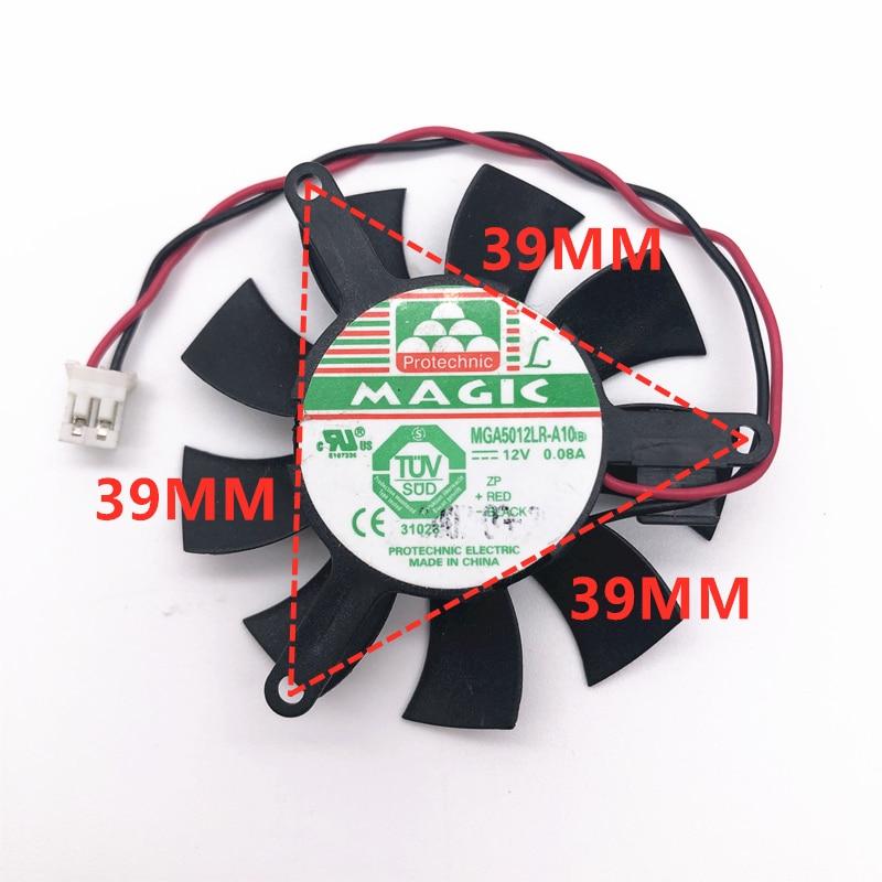 MDA5012LR-A10 MGT5012XR-W10 DC12V 0.1A 2pin High quality cooling fan