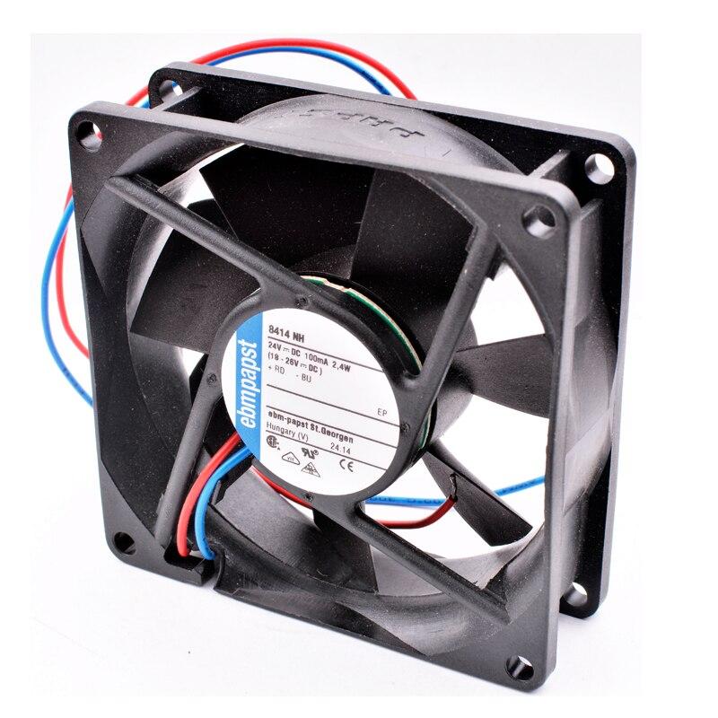 Ebmpapst 8414 NH DC24V 2.4W Server inverter cooling fan