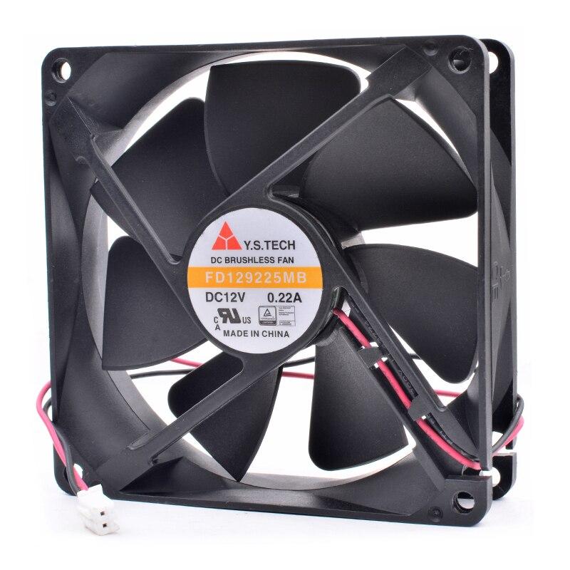 Y.S.TECH FD129225MB DC12V 0.22A cooling fan