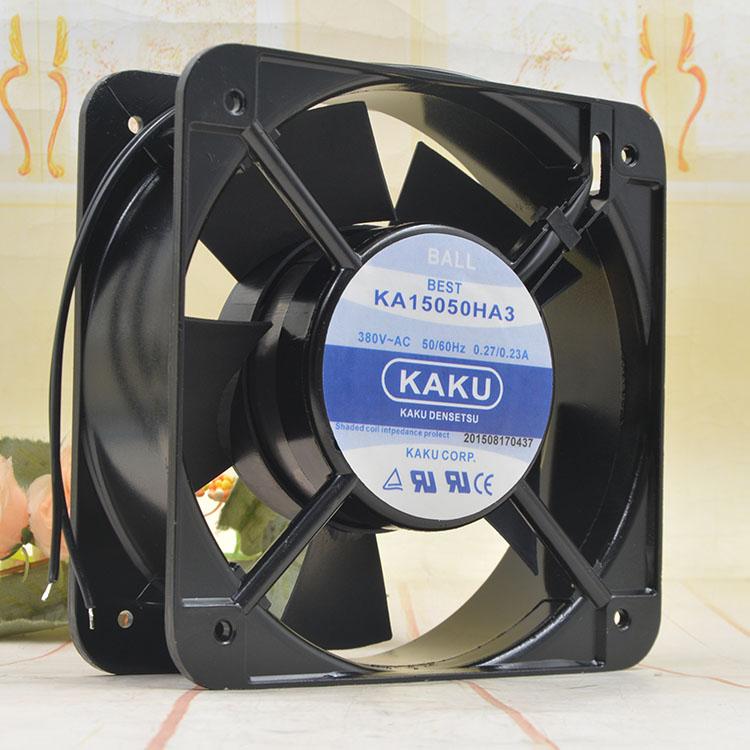 KAKU 15050HA3 380V AC 0.27/0.23A 15CM cooling fan