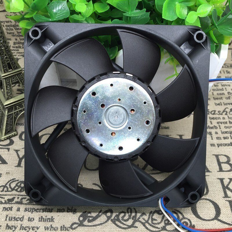 Ebmpapst 4414FN/2N DC24V 8.3W 3-wire Square Cooling Fan