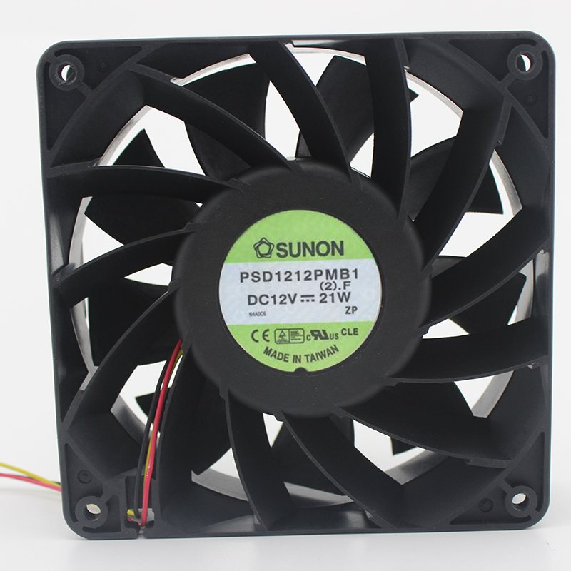 Brand new original 12038 12V 21W strong wind air-cooled oil-cooled violent cooling fan PSD1212PMB1