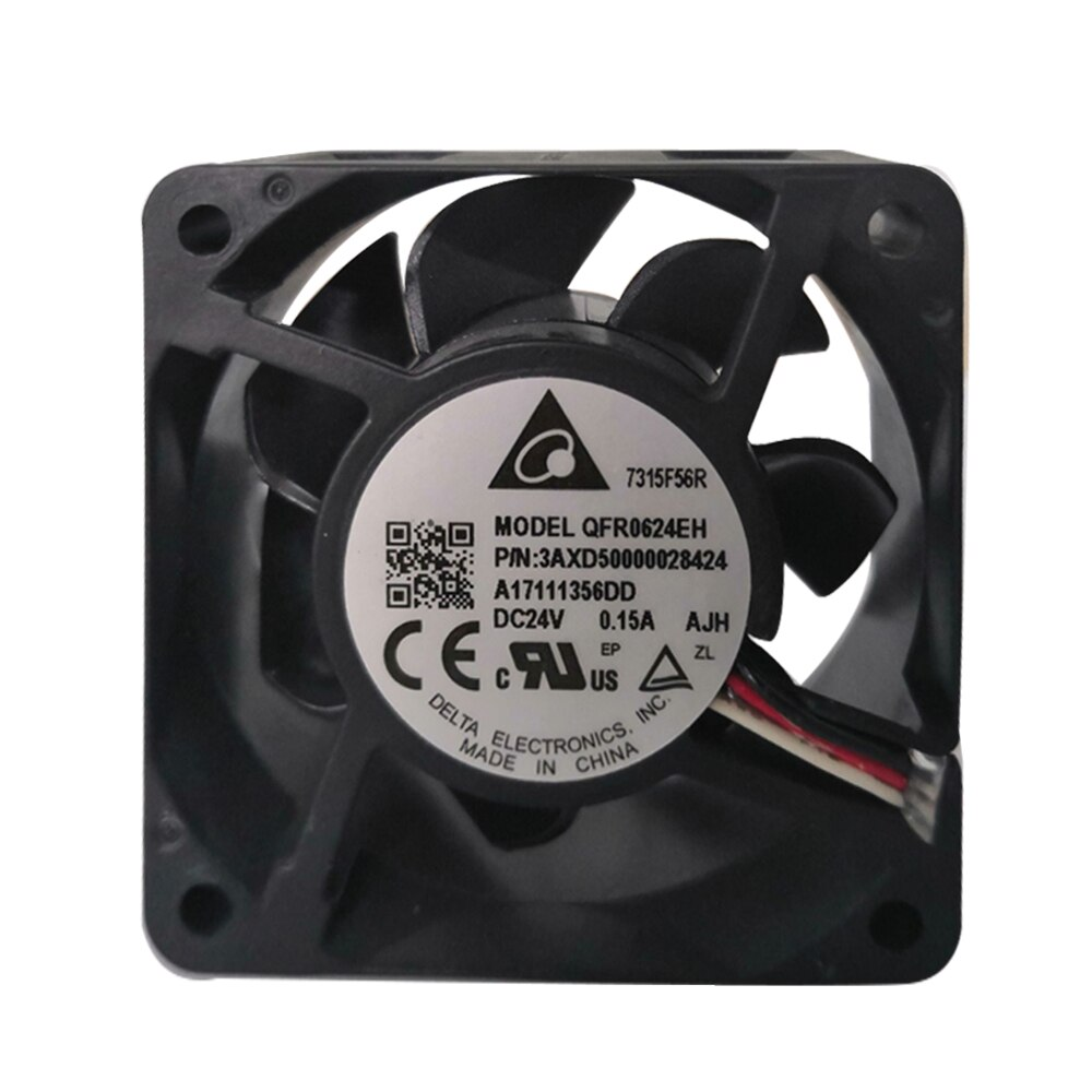QFR0624EH brand new genuine Delta 6025 24V 0.15A 6CM / cm inverter fan 3AXD50000028424