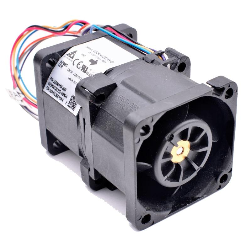 GFB0412EHS-D 32030159-003 40x40x56mm DC12V 1.82A cooling fan