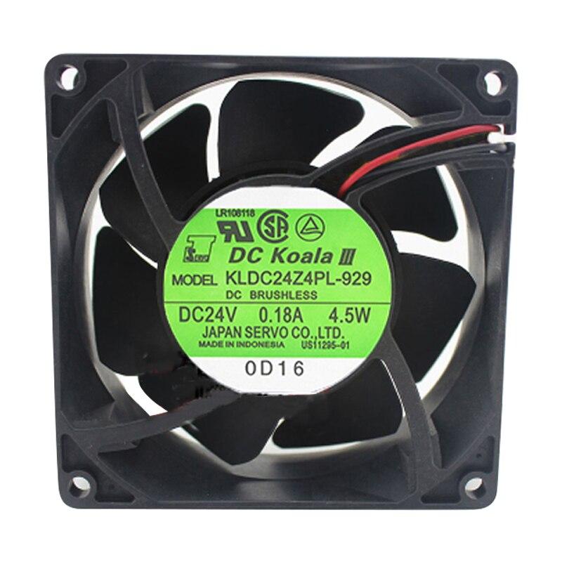 Servo KLDC24Z4PL-929 DC24V 4.5W Axial cooling fan