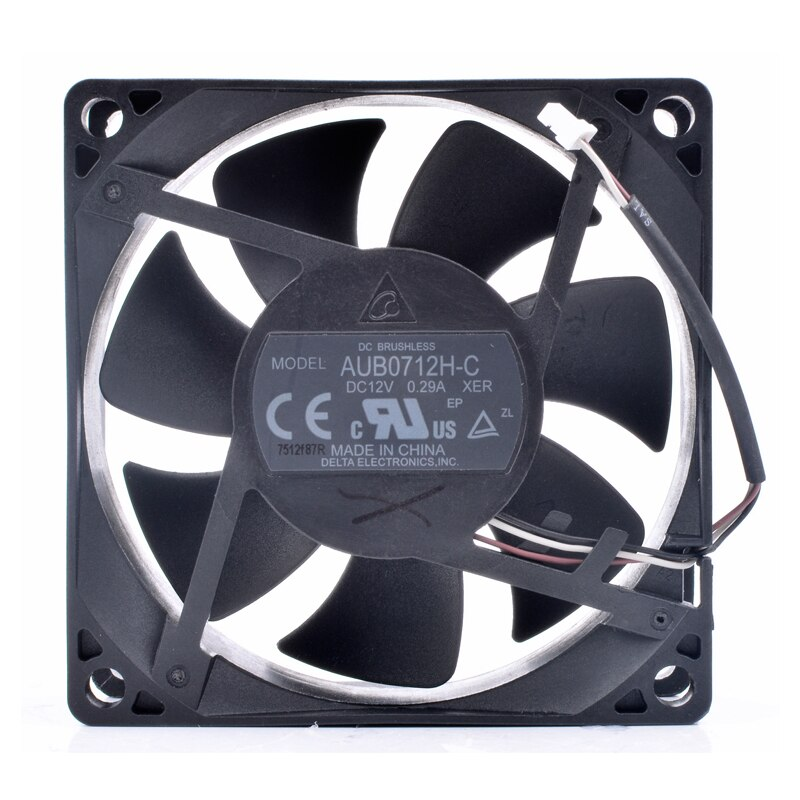 Delta AUB0712H-C 12V 0.29A 3-line projector cooling fan