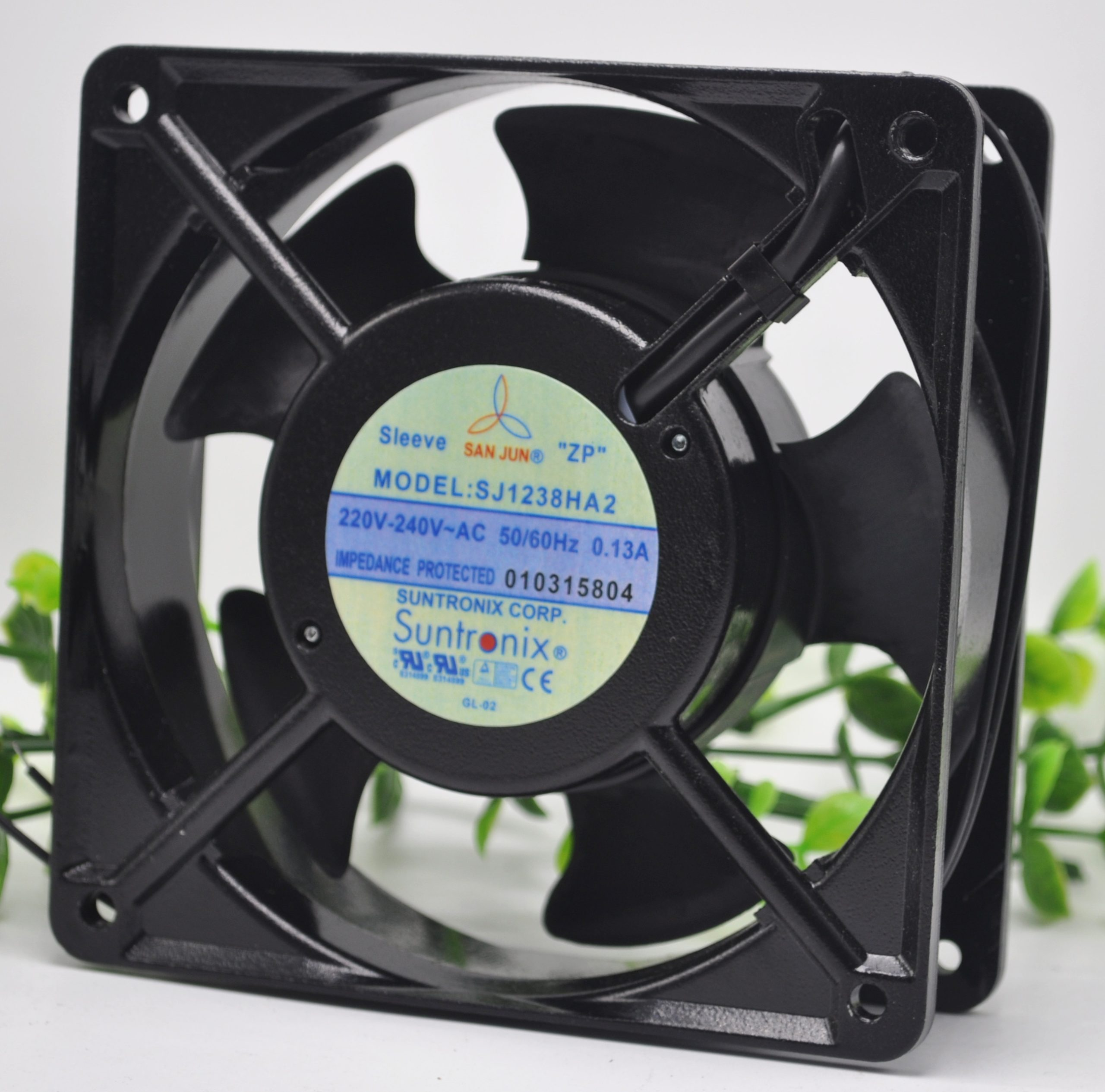 SJ1238HA2 original Taiwan three giant 12038AC220VHA1 110V axial flow cooling fan 380V HA3