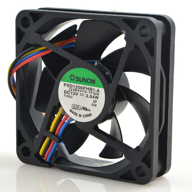 SUNON PSD1206PHB1-A DC12V 3.04W small axial flow cooling fan