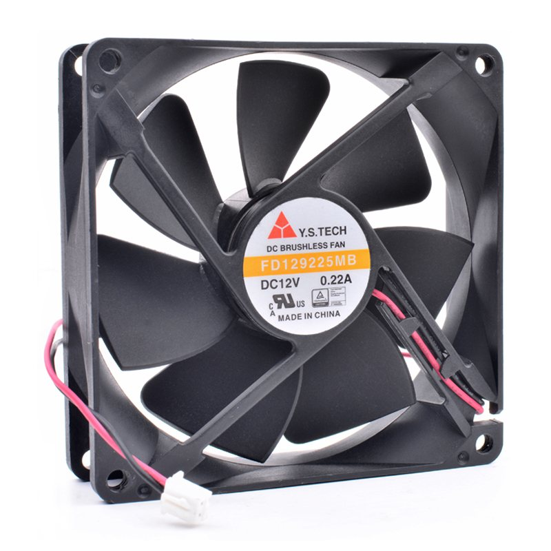 Y.S.TECH FD129225MB DC12V 0.22A cooling fan