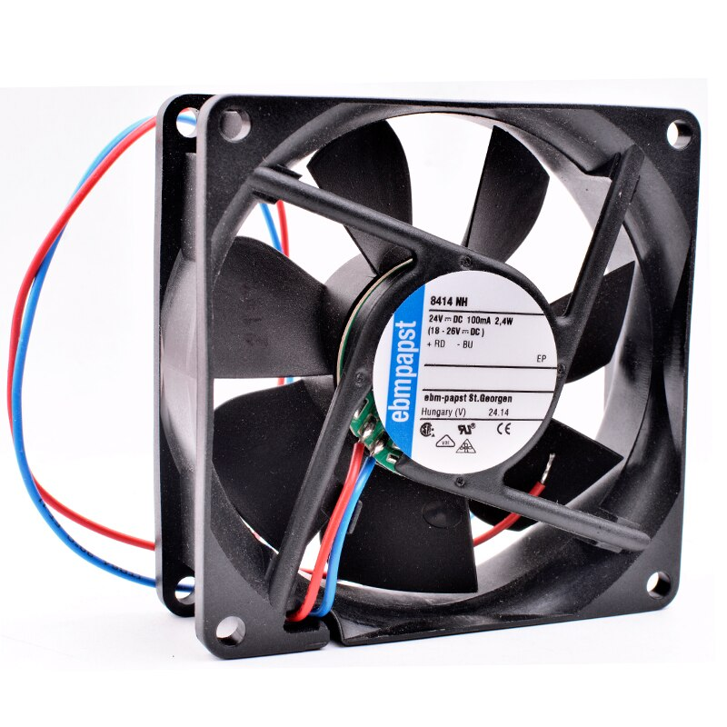 Ebmpapst 8414 NH DC24V 2.4W Server inverter cooling fan