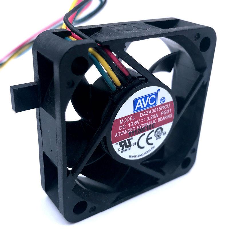 AVC DAZA0515RCU 5CM DC 13.6V 0.20A waterproof cooling fan