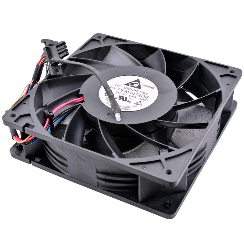 Delta PFM1412DE 14cm DC12V 5.04A DIY bitcoin miner cooling fan