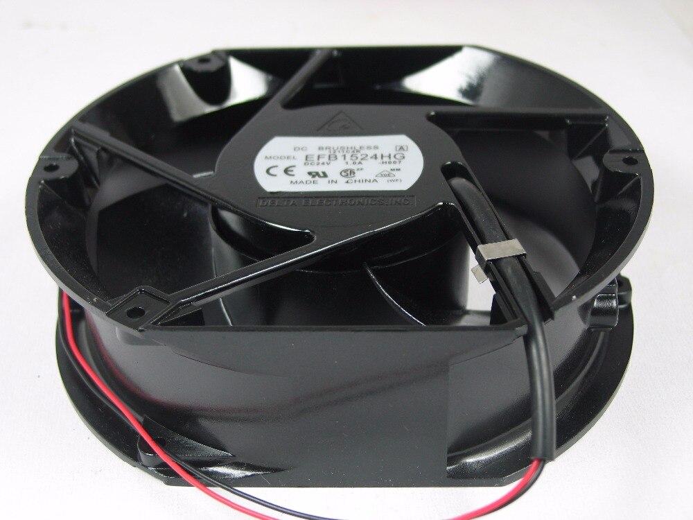 Delta EFB1524HG DC24V 1.0A 172mm Cooling Fan