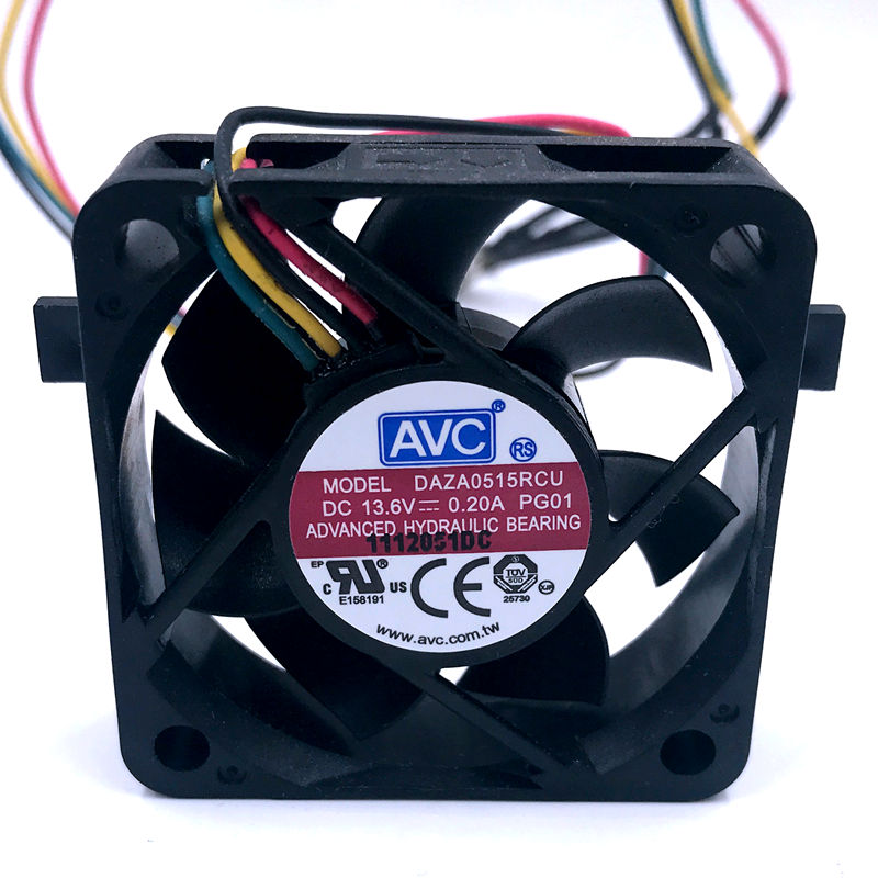 AVC DAZA0515RCU 5CM DC 13.6V 0.20A waterproof cooling fan 1
