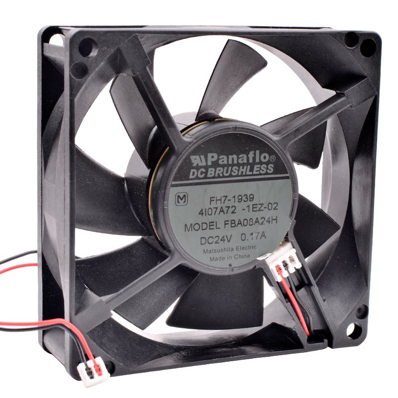 Panaflo FBA08A24H DC24V 0.17A inverter power supply silent cooling fan