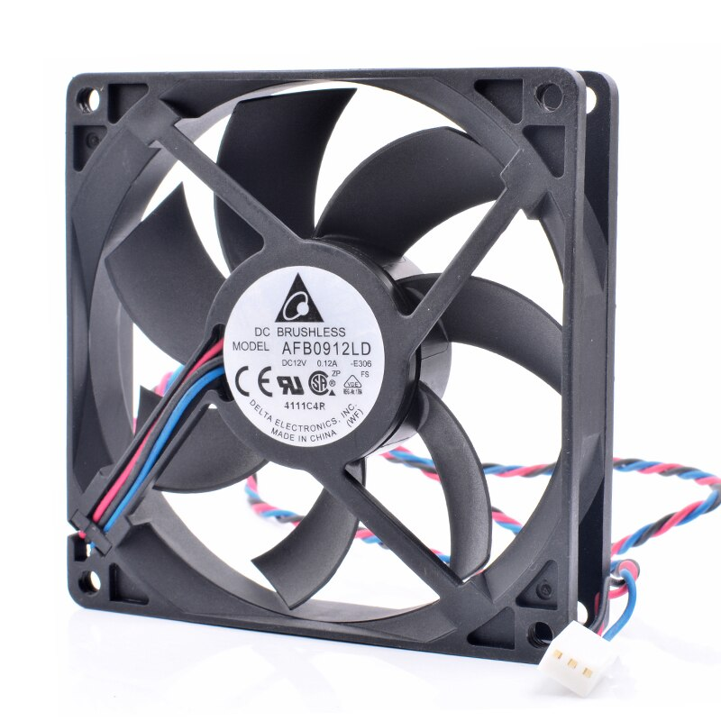 Delta AFB0912LD DC12V 0.12A quiet cooling fan