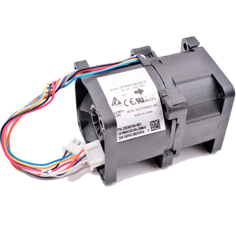 GFB0412EHS-D 32030159-003 40x40x56mm DC12V 1.82A cooling fan