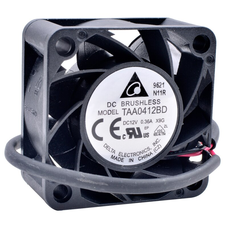 Delta TAA0412BD DC12V 0.36A server power supply large cooling fan