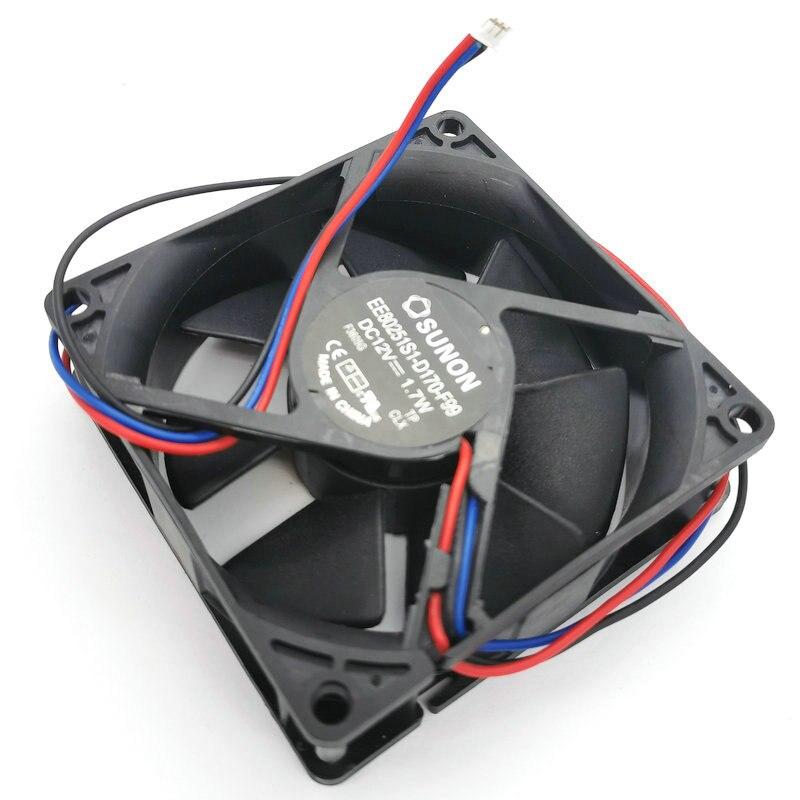 SUNON EE80251S1-D170-F99 DC12V 1.7W projector cooling fan