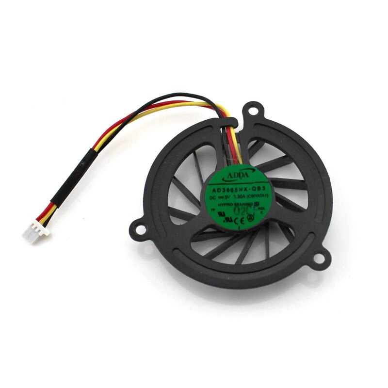 Adda AD3605HX-QB3 DC 5V Mini 3pin 0.30A 40MM CPU cooling Fan