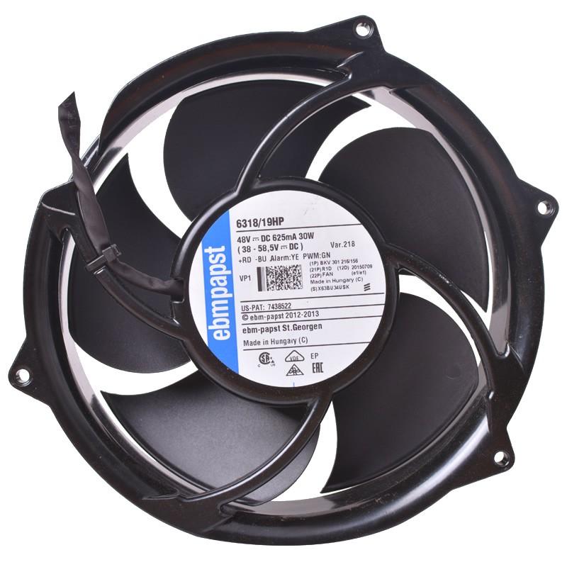 6318/19HP BKV301216/156 DC48V 30W ebmpapst axial fan