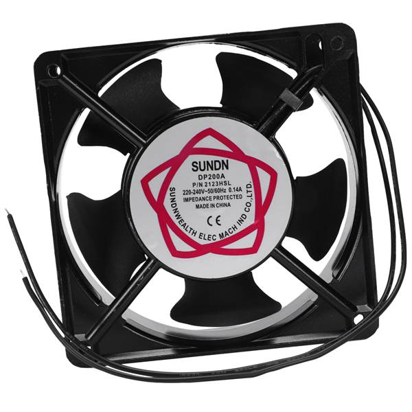SUNON 2123HSL DP200A AC220/240V 0.14A 22W 2-wire Metal Frame Axial Flow fan