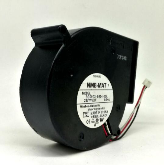 NMB BG0903-B054-00L 24V 0.64A 3-wire variable frequency turbo fan