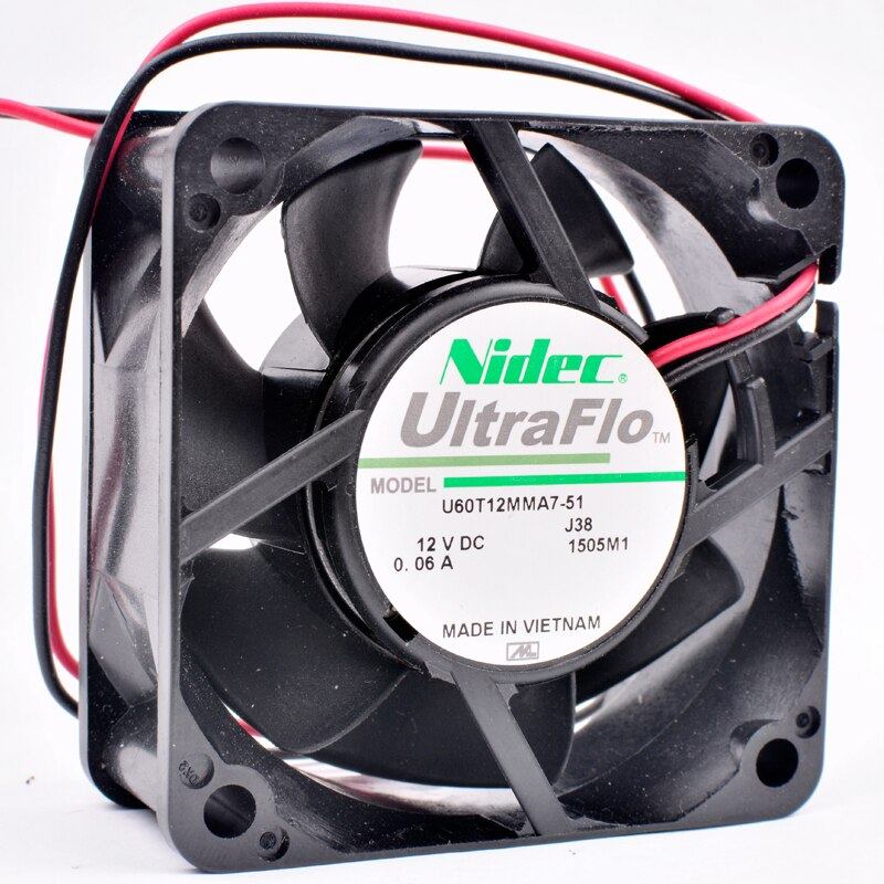 Nidec U60T12MMA7-51 DC12V 0.06A quiet cooling fan