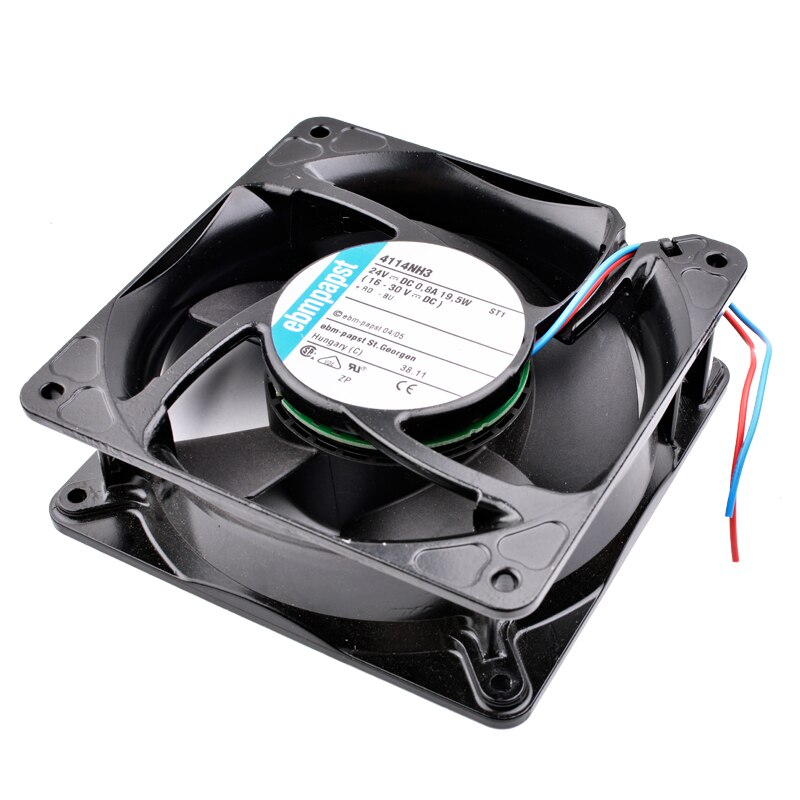 ebmpapst 4114NH3 DC24V 0.8A 19.5W Metal frame inverter cooling fan